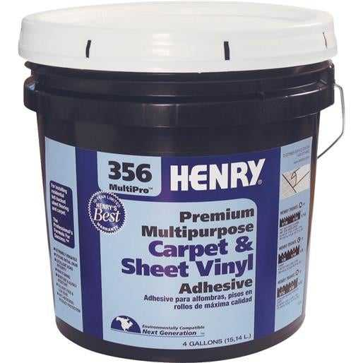 Henry, W.W. Co. 4Gl H356 Mp Flr Adhesive 12075 Unit: EACH