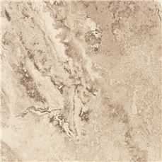 Trafficmaster Peel N' Stick Tile 18 In. X 18 In. Light Travertine 2.5Mm (0.100 In.) / 36 Sq. Ft. Per Case